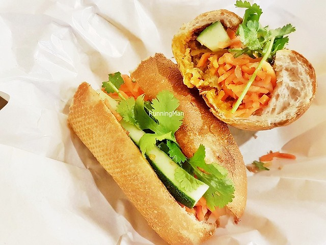 Banh Mi Pork Meat Ball With Pate