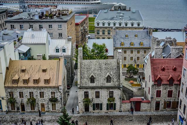 Old Lower Town (Basse-Ville) - Quebec City Quebec Canada