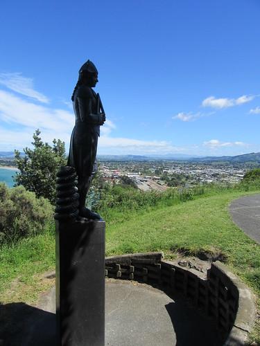 Captain Cook Statue at Gisborne