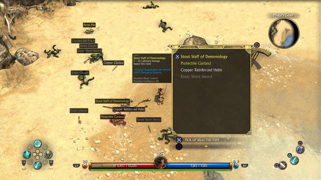 El creador de Titan Quest nos explica cómo se han adaptado a consola los controles de este clásico de PC