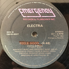 ELECTRA FEATURING TARA BUTLER:FEELS GOOD(CARROTS & BEETS)(LABEL SIDE-B)
