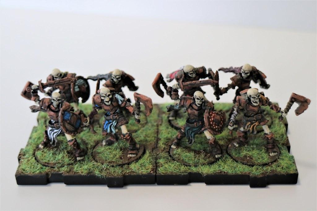Runewars Miniatures Reanimates Front