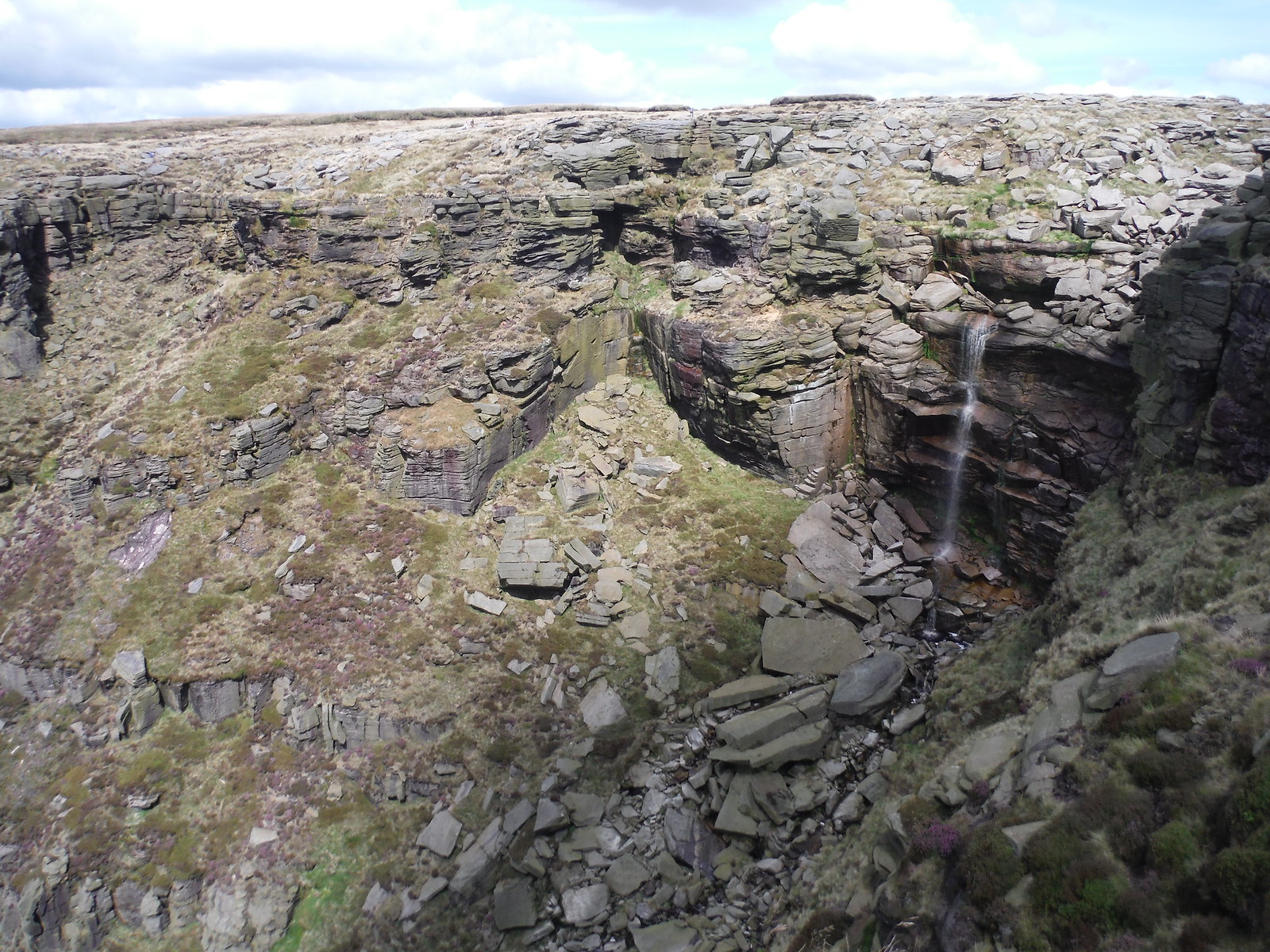Kinder Downfall SWC Walk 303 - Edale Circular (via Kinder Scout and Mam Tor) [Kinder Downfall Option]