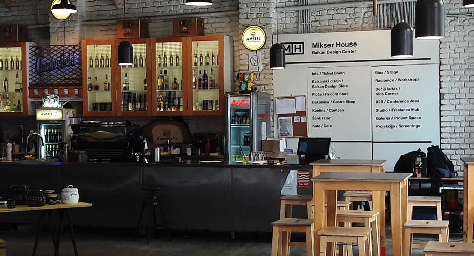 Ontdek Belgrado: Mikser house in Savamala | Mooistestedentrips.nl
