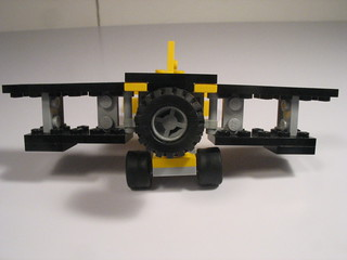 Folding wing bi-plane and transport truck 015