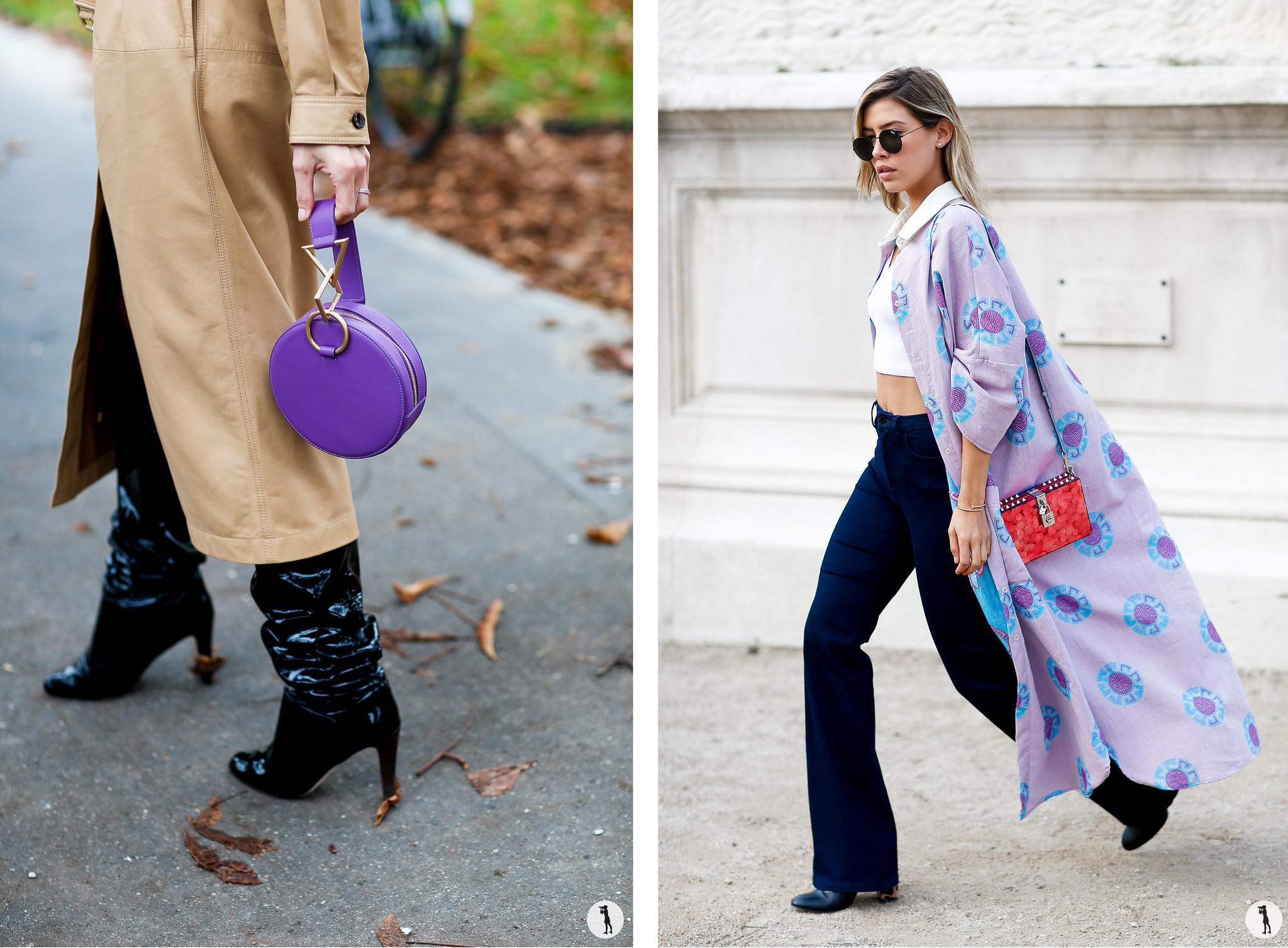 Close up and Michelle Salas - Paris Fashion Week SS18
