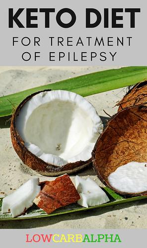 Keto diet for treatment of epilepsy
