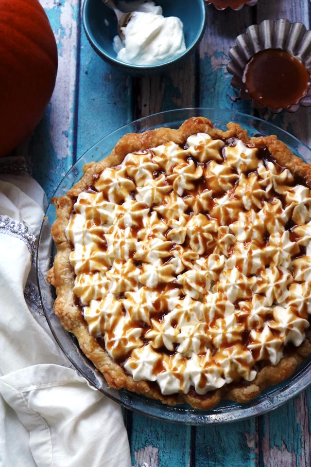 Brown Butter Caramel Pumpkin Pie