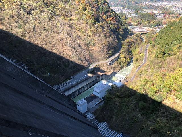 ヤマハバイク ツーリング 浦山ダム