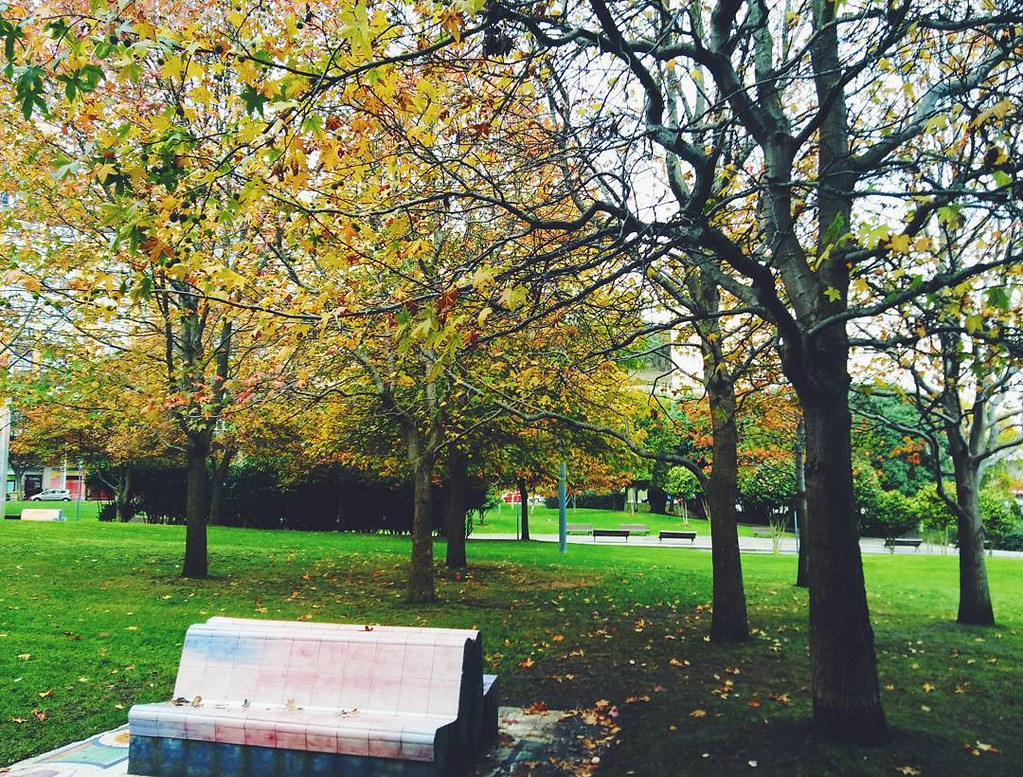 Otoño en el parque. #losrosales #Coruña #park #autumn #outono #fall #fallcolours #phonephoto #photography #saturdaymorning
