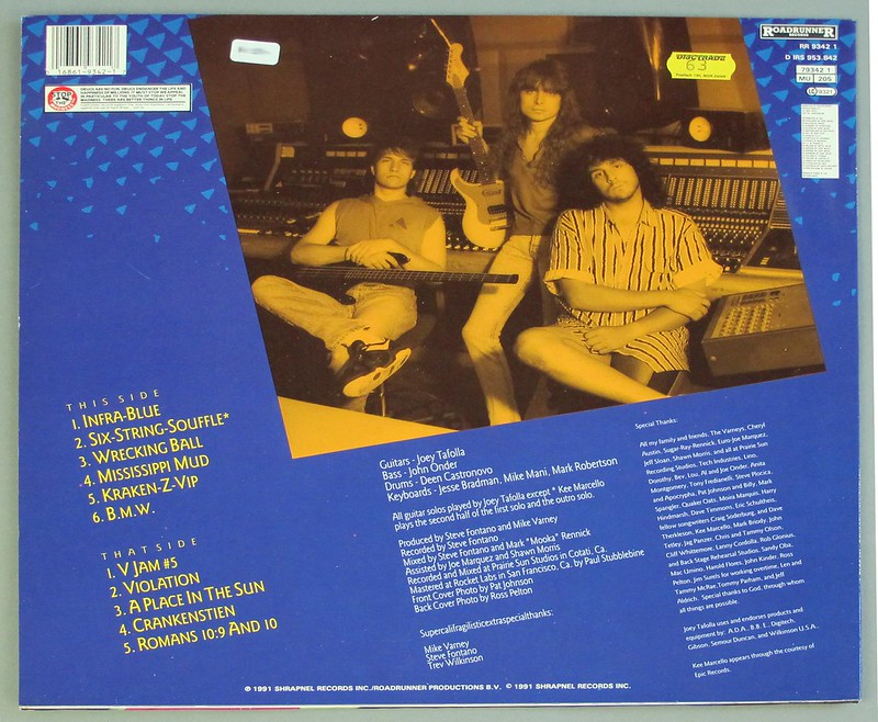 "JOEY TAFOLLA INFRA BLUE 12"" LP VINYL"