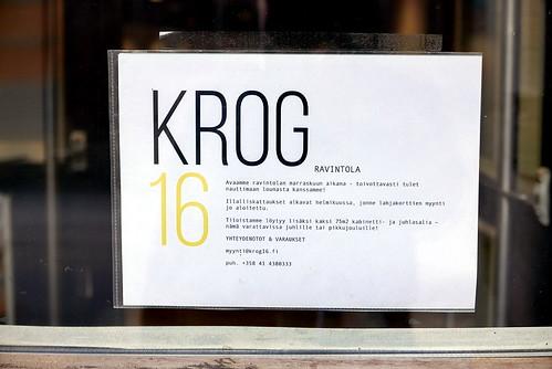 Krog 16, Munkkisaari