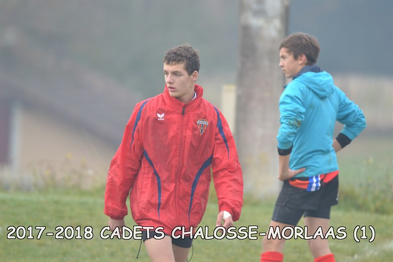 2017-2018 CADETS CHALOSSE - MORLAAS