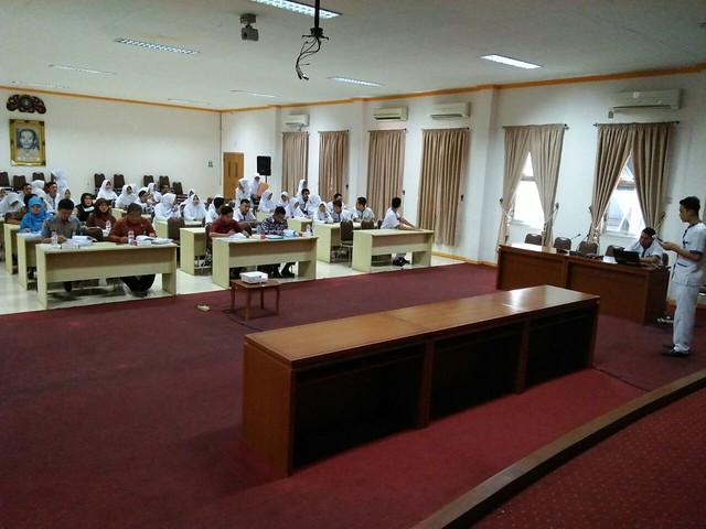 Seminar Stase Keperawatan Dasar Ners 4 di RSUD Lamongan