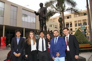 La Universidad San Ignacio de Loyola, a través de la Carrera de Relaciones Internacionales, con el apoyo del Club Consilium, organizó el Modelo de Naciones Unidas (USILMUN) de Universidades; una simulación de la Asamblea General de la ONU, donde se debate sobre temas de relevancia internacional.