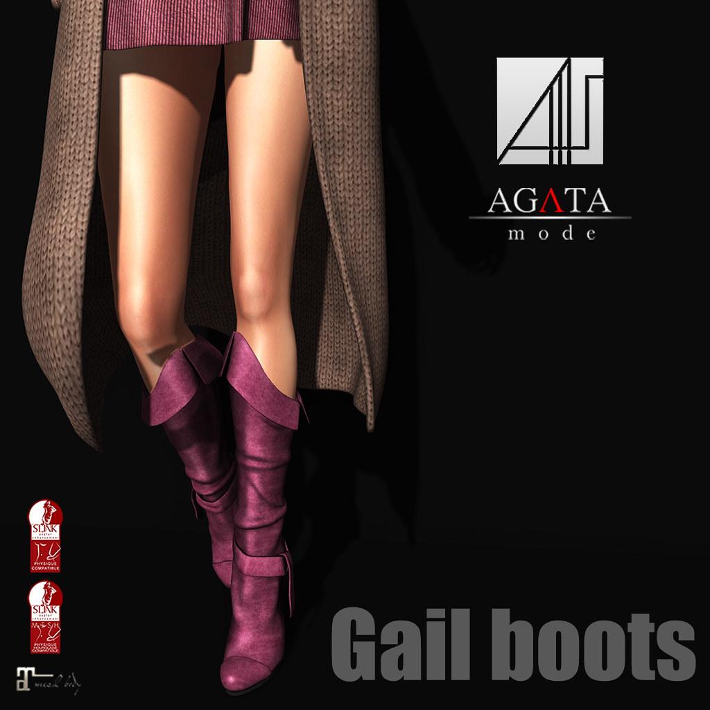 Gail boots @ Shiny Shabby - TeleportHub.com Live!