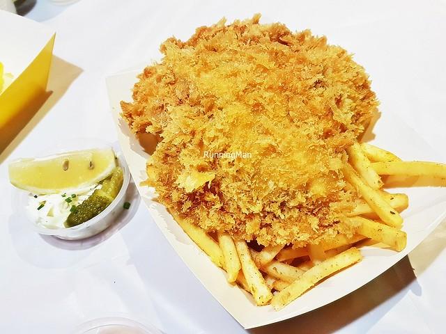 Barramundi Fish And Chips Set