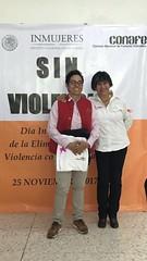 Conafe por Eliminación de la Violencia Contra la Mujer