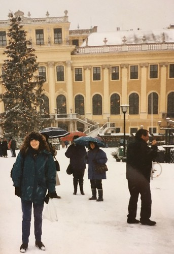 Afternoon at Schonbrunn. From A Taste of Viennese Christmas