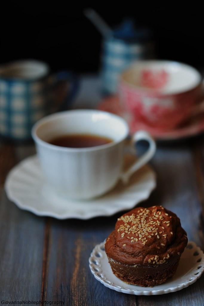 Muffin al cacao e nocciole 7