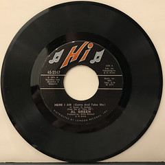 AL GREEN:HERE I AM(COME AND TAKE ME)(RECORD SIDE-A)