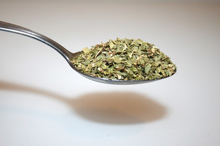 02 - Zutat Oregano / Ingredient oregano