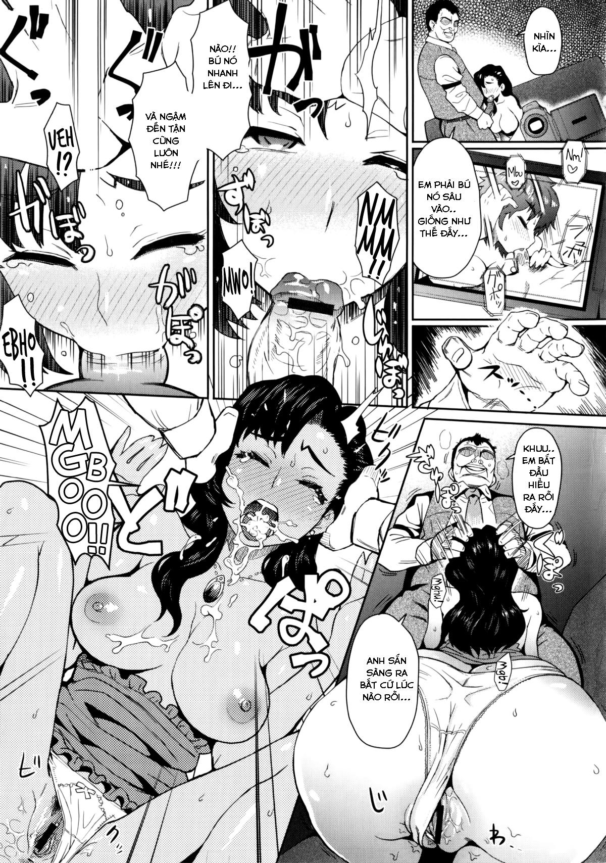 HentaiVN.net - Ảnh 11 - Cái Giá Của Ngoại Tình - Risou no Tsuma | An Ideal Wife - Oneshot