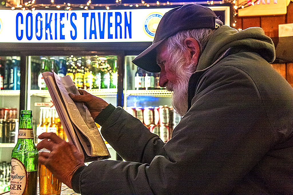 John in Cookie's Tavern--South Philly