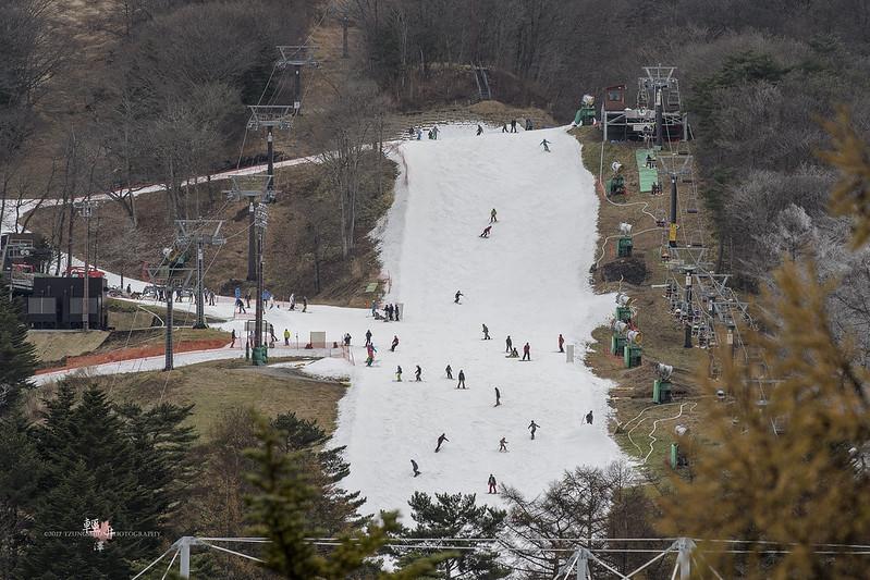 輕井澤旁的滑雪場