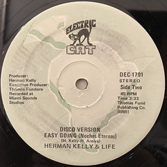 HERMAN KELLY & LIFE:DANCE TO THE DRUMMER BEAT(LABEL SIDE-B)