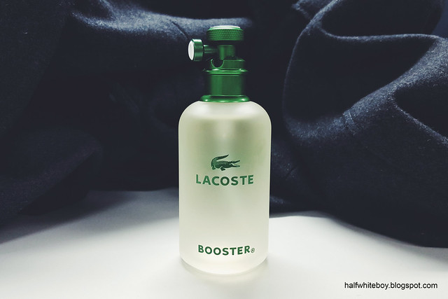 halfwhiteboy - lacoste booster EDT