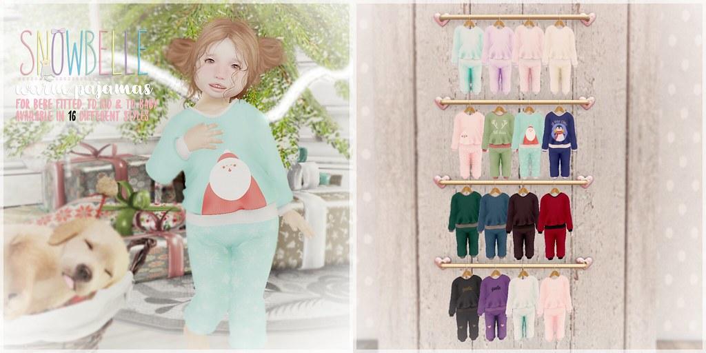 { snowbelle } warm pajamas - TeleportHub.com Live!