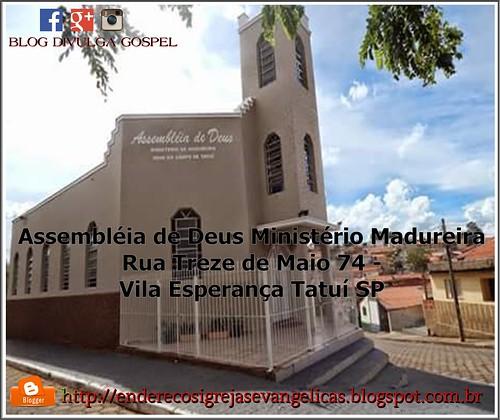 IGREJA ASSEMBLÉIA DE DEUS MINISTÉRIO MADUREIRA