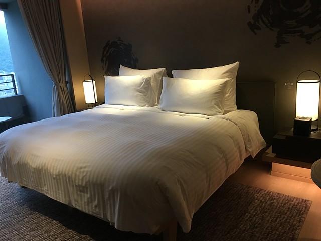 SIMMONS床墊的大床@宜蘭礁溪寒沐酒店