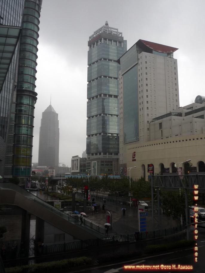 Город Шанхай фотографии