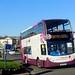 Stagecoach 15898 WA13GEU Paignton seafront 8 November 2017