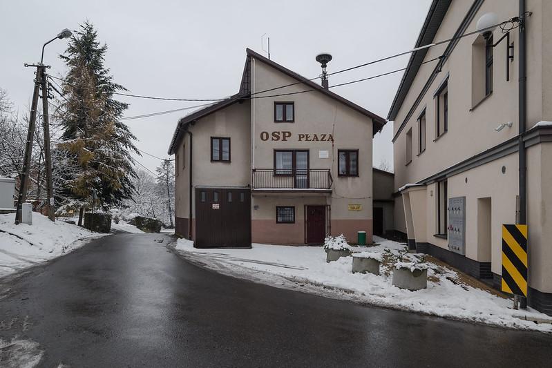 Firestation OSP Płaza A, Lesser Poland, 05.12.2017