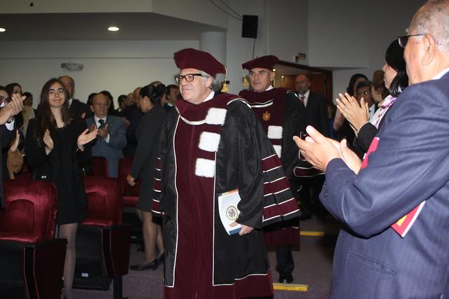 Universidad de San Martín de Porres incorporó como Doctor Honoris Causa a Luis Almagro Lemes en el Contexto de la LVI sesión de la Cátedra de las Américas