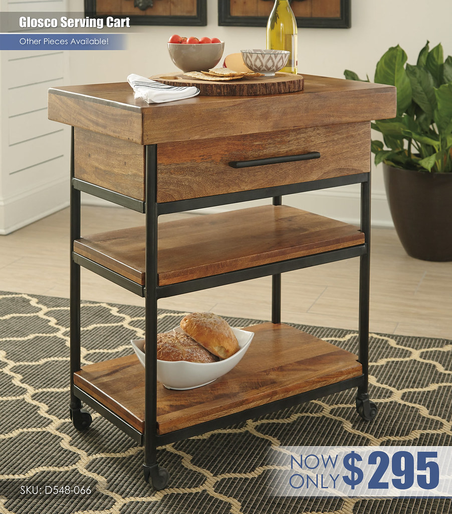 Glosco Serving Cart_D548-066