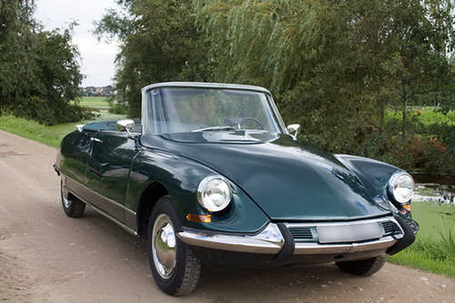 Citroën DS 19 Cabriolet Chapron 1964 Forest Green