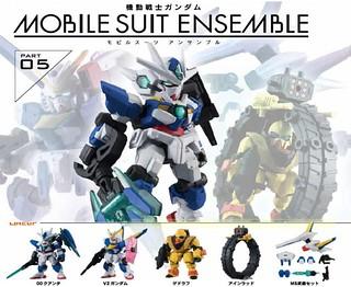 大好評《機動戰士鋼彈》「重裝X重奏 武裝」第五彈 續推!機動戦士ガンダム MOBILE SUIT ENSEMBLE 05
