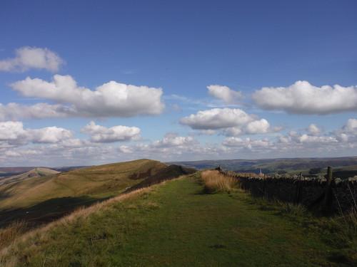 Great Ridge, from Rushup Edge