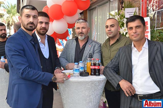 Uğur Özdemir, Süleyman Karaçalı, Rıfat Demirci, Mevlüt Gökmen, BÜlent Büyükaktepe