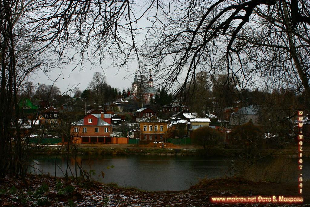 Зимние пейзажи в Городе Сергиев Посад