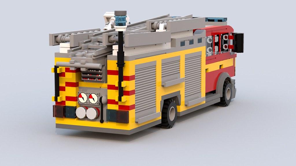 Lego British Fire Engine - LEGO Town - Eurobricks Forums