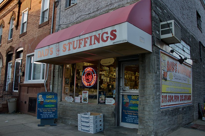 Dad's Stuffings Ritner Street South Philly Philadelphia PA Retro Roadmap