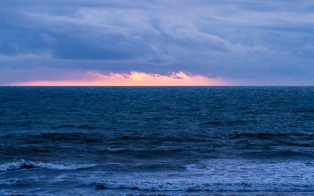 Abertstwyth sunset