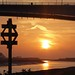 Sunset under the Bridge,