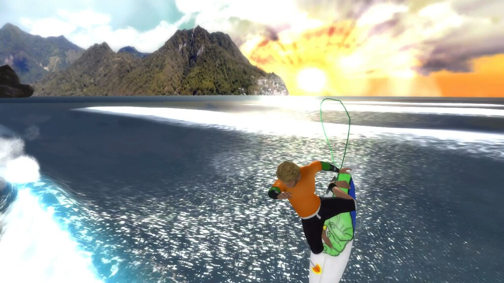 the surfer para ps3