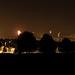 Firework displays around Bath, Somerset, UK